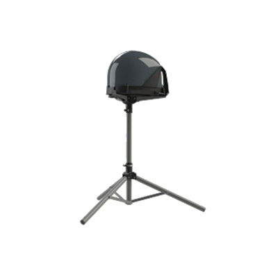 Satellite Antenna Stand - King Satellite Tripod Antenna Stand With Carry Case And Pegs
