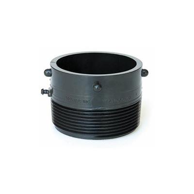"Sewer Hose Connector - Valterra Termination Adapter 3"" Male Thread x 3"" Bayonet"