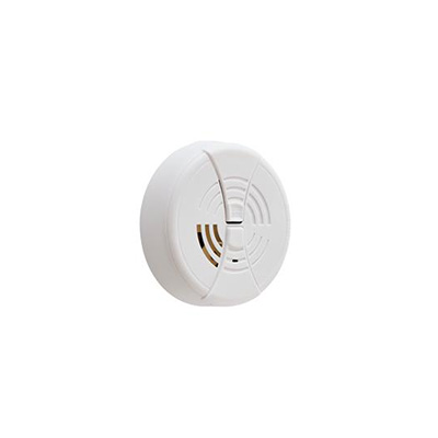 Smoke Detectors - BRK Electronics Surface Mount Smoke Detector 9V Battery - White