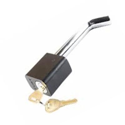 Trailer Hitch Lock - Husky Towing Universal-Fit Trailer Hitch Lock With 2 Keys