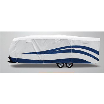Travel Trailer Cover - UV Hydro Designer Series All Season Trailer Cover Up To 15'L