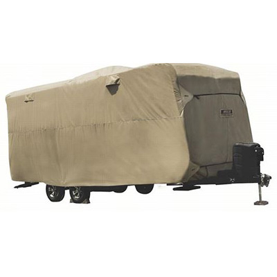 Travel Trailer Covers - ADCO Storage Lot Travel Trailer Cover - 34'1