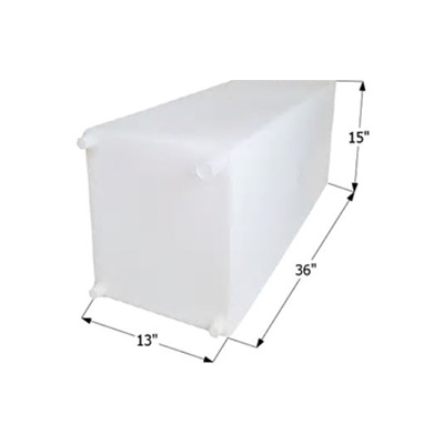 Water Holding Tank - Icon Fresh Water Holding Tank 30 Gallon White