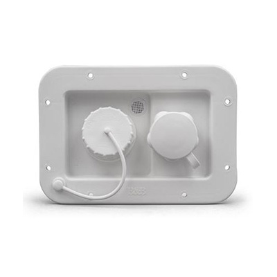 Water Inlet - Thetford City & Gravity Water Hook Up Hatch White