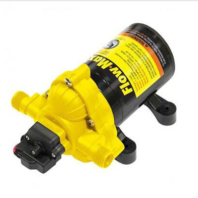 Water Pump - Flow Max Fresh Water RV Pump With Strainer And Fittings - 115V - 3.3 GPM
